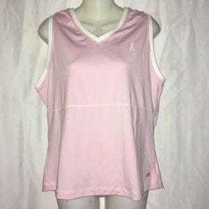 New balance XL pink breast cancer awareness shirt